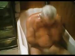 grandpa bath