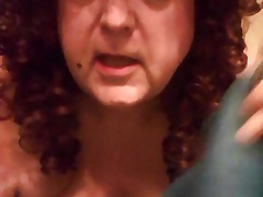 sissy faggot michelle takes a enema