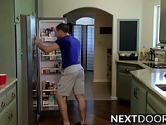 Dylan Knight and Markie More loves hot sex in the kitchen