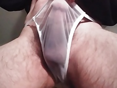 Getting hrd in new panty