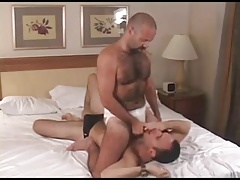 Furry Daddy Trucker and Pig fuck