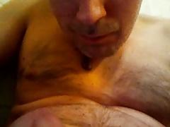 cum in the bath