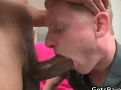 Excited white guy gets assfucked by huge