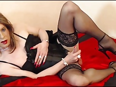 Sexy sissy slut for your pleasure