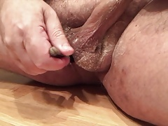 Shaving little dick