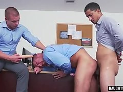 Latin gay dildo and facial