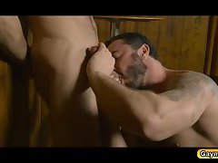 Dario Beck sucks Jessy Ares and fucked in his anal