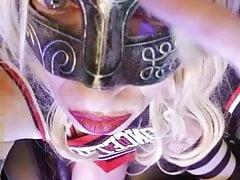 Sexy Gothy Cheerleader (Quick Tease)