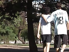 Twinks Latinos Adrian and Francoise Fucking