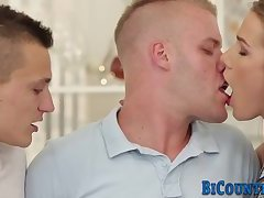 Ass pounding bisex hunk