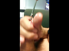 Ribbed Sounding Rod 2