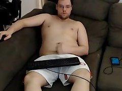 Chubby Wanking