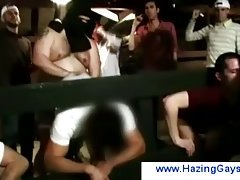 One by one of the teens get fucked at the horse stables