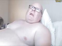 Chubby Guy on Cam