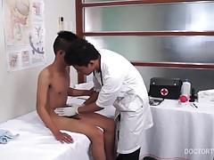 Kinky Medical Fetish Asians Barebacking Trio
