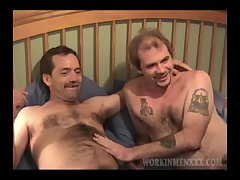 Amateurs Shane and Troyce Suck Cock