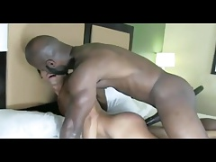 A Big Black Cock Fuck and Creampy a Young Twink Hard