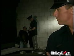 Gays in uniform loves sucking dicks and fucks anal
