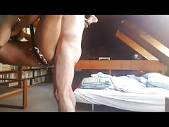 Big dick daddy fucks a cub in the library (part 2)