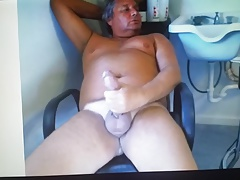hung daddy on cam