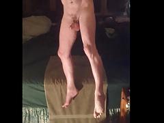 Handsfree Orgasm Just Using Tension in My Legs