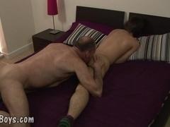 MenVsBoys - Balding gay slams the asshole of a cute boy