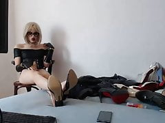 Hot and fetish Blond CD