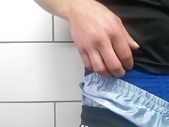 Soccer Sagging, ripping and cum