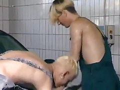 Twinks Fucking in the Car Wash