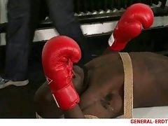 Bound Black Boxer