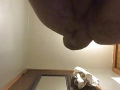 Self anal fisting. Gape. Gaping. Masturbating. Ass play