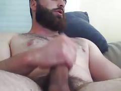 hot beard...hot cum