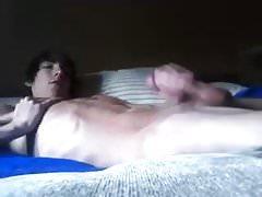 Tall Emo Twink Jerks Big Cock