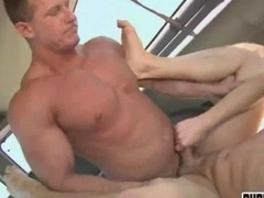 Huge muscle men accepts money to get down and dirty