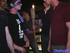 Real students humiliated during hazing
