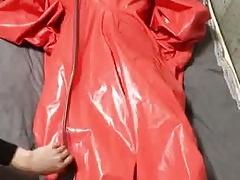 kigurumi in hazmat suit