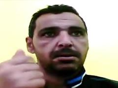 horny arab on cam