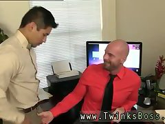 Hot cock sucking in office