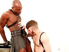 NextDoorEbony Redhead Bends Over for Big Black Dick