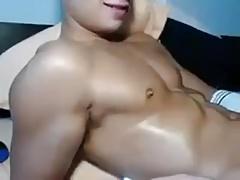 Asian young stud JO (no cum - 1'00'')