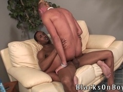 Blonde gay punk Breckin takes a ride on his BF's BBC