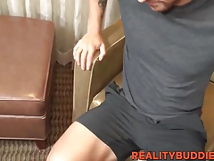 Cute Gabe selling his asshole for money
