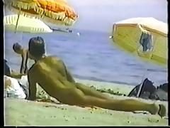 Nudist beach horny