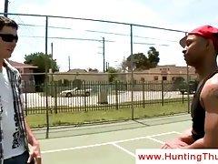 Basketball playing thug gets seduced