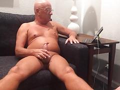 Masturbating again
