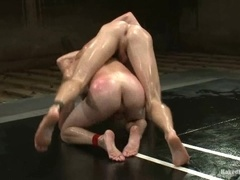 Christian Wilde and Shane Erickson have a nice gay fuck on tatami