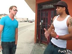 Black gay thug gets it up the stinker