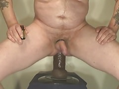 Riding My Pipedream Chubby Big Black Cock.