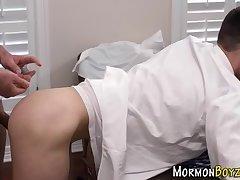 Bareback plowed mormon