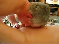 Mature old men sucking and masturbating